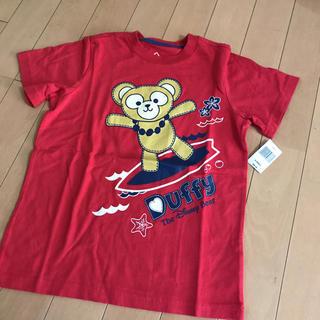 ダッフィー(ダッフィー)のハワイのアウラニ限定ダッフィー のTシャツ★サイズ110(キャラクターグッズ)