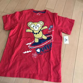 ダッフィー(ダッフィー)のハワイのアウラニ限定ダッフィー のTシャツ★サイズ120(キャラクターグッズ)