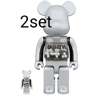 MEDICOM TOY - MY FIRST BE@RBRICK innersect 100%&400%