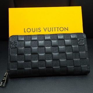 LOUISVUITTONルイヴィトン 長財布 カードケース ブラック