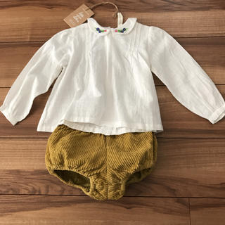 little cotton clothes ブラウス&パンツ(ブラウス)