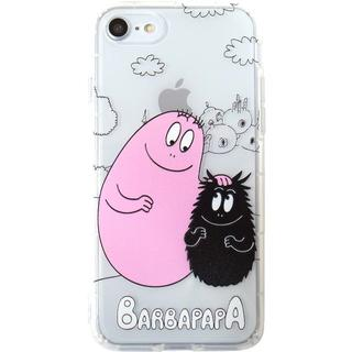 バーバパパ iPhone ケース タイプB 各種サイズあり(iPhoneケース)