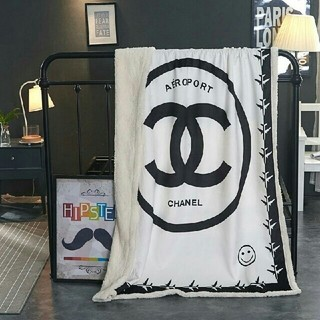 シャネル(CHANEL)の未使用寝具カバー毛布 CHANEL  (毛布)