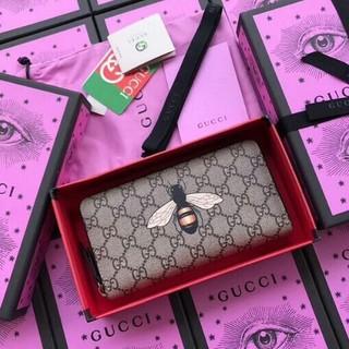グッチ(Gucci)のグッチ 財布 GUCCI 451273 GGスプリーム 蜂 x ベージュ(長財布)