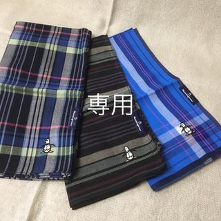 マンシングウェア(Munsingwear)の新品未使用💕Munsingwearハンカチ✨(ハンカチ/ポケットチーフ)