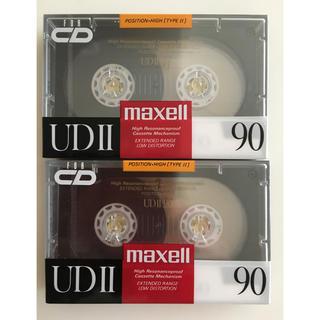 マクセル(maxell)の〈新品未使用〉maxell カセットテープ 90分 2本(その他)