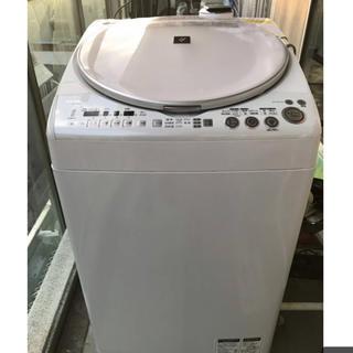 シャープ(SHARP)の● SHARP 洗濯乾燥機 ES-TX800 Ag+イオンコート 洗8 乾4 ●(洗濯機)