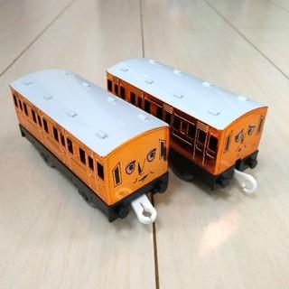 タカラトミー(Takara Tomy)のレア品 メタリック アニーとクララベル(電車のおもちゃ/車)
