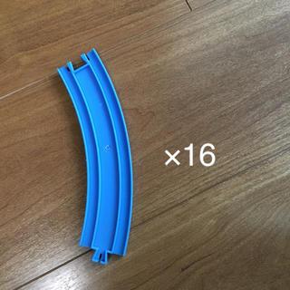 タカラトミー(Takara Tomy)のプラレールのレール  曲線16本セット(電車のおもちゃ/車)