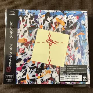 ワンオクロック(ONE OK ROCK)の新品未開封ワンオクロックニューアルバムCD初回限定ステッカー付き(ポップス/ロック(邦楽))