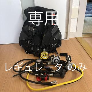 アクアラング(Aqua Lung)のアクアラング重機材セット レギュレータ BCD(マリン/スイミング)