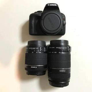 キヤノン(Canon)のCanon デジタル一眼レフカメラ EOS Kiss X7 ダブルズームキット(デジタル一眼)