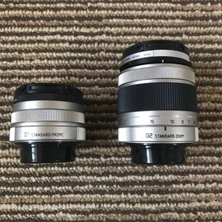 ペンタックス(PENTAX)のペンタックスQ レンズ 2本セット(ミラーレス一眼)