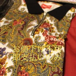 シュプリーム(Supreme)のPaisley L/S Polo supreme シュプリーム 17aw 窪塚着(ポロシャツ)