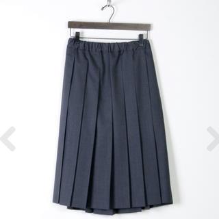 ヤエカ(YAECA)のcharpentier de Vaisseau プリーツスカート(ひざ丈スカート)