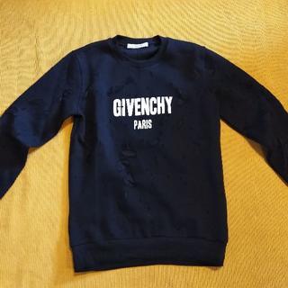 ジバンシィ(GIVENCHY)のデストロイ ダメージ パーカー スウェットシャツ スウェット(スウェット)