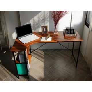 【送料無料!】L字デスク デスク オフィスデスク 収納デスク 勉強机 学習机(学習机)