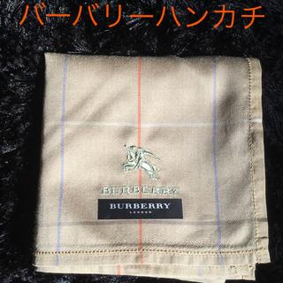 バーバリー(BURBERRY)のバーバリーハンカチ 新品未使用(ハンカチ/ポケットチーフ)