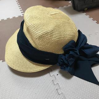 カシラ(CA4LA)のCA4LA 麦わら帽子 風の方向(麦わら帽子/ストローハット)