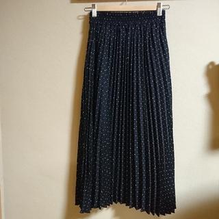 しまむら - しまむら  ドットプリーツスカート