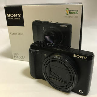 ソニー(SONY)のひで24681975様 SONY DSC-HX50V 黒(コンパクトデジタルカメラ)