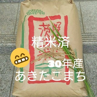RARA1213様専用です☺あきたこまち精米済24kg(米/穀物)