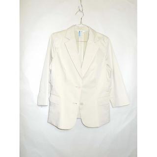 ニジュウサンク(23区)の23区 レディース テーラードジャケット ホワイト(テーラードジャケット)
