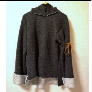 SUNSEA - SUNSEA w face wool goofy sweater