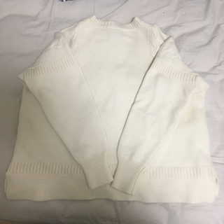 ヤエカ(YAECA)のle tricoteur ワイドガンジーセーター(ニット/セーター)