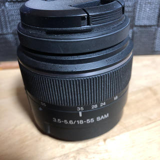 ソニー(SONY)のSONY レンズ DT 18-55mm F3.5-5.6 SAM SAL1855(レンズ(単焦点))