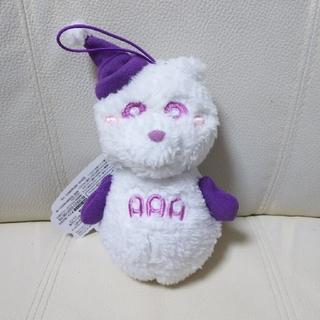 トリプルエー(AAA)のAAA え~パンダ 雪だるまぬいぐるみ パープル(ミュージシャン)
