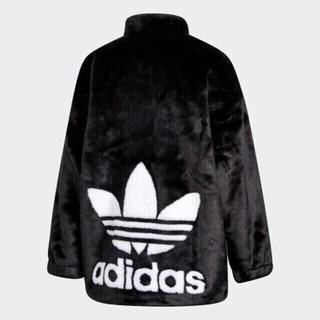 アディダス(adidas)のadidasファージャケット ファーコート アディダスオリジナルス(毛皮/ファーコート)
