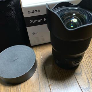 シグマ(SIGMA)のSIGMA art 20 f1.4 DG(レンズ(単焦点))