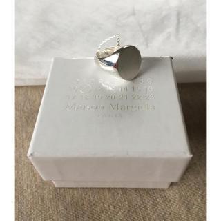 マルタンマルジェラ(Maison Martin Margiela)の18SS新品M マルジェラ オーバル シグネットリング シルバー(リング(指輪))