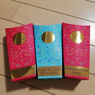GODIVA ゴディバ ショコラロールクッキー 3箱(菓子/デザート)