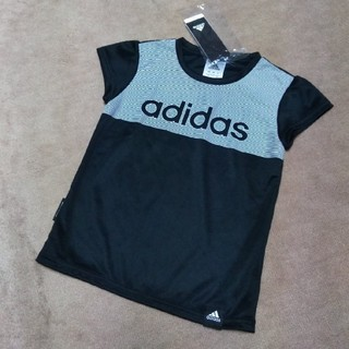 アディダス(adidas)のadidas 黒×白(Tシャツ/カットソー)