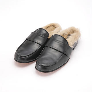 アメリカンラグシー(AMERICAN RAG CIE)のカミナンド  ブラック ファー ローファー(ローファー/革靴)