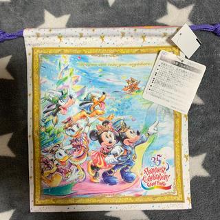 ディズニー(Disney)のディズニー 35周年 巾着(キャラクターグッズ)