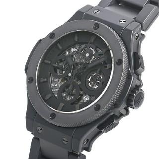 ウブロ(HUBLOT)のビッグバン アエロバン オールブラックII 世界500本限定 311.CI.11(腕時計(アナログ))