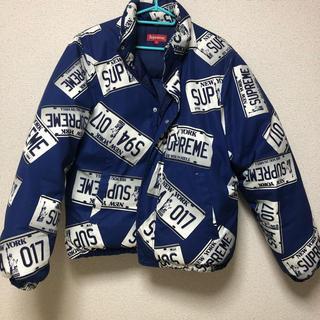 シュプリーム(Supreme)の17fw supreme puffy jacket Mサイズ(ダウンジャケット)