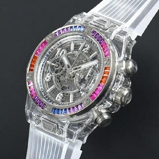 ウブロ(HUBLOT)のビッグバン ウニコ サファイア ギャラクシー 50本限定 411.JX.4803(腕時計(アナログ))