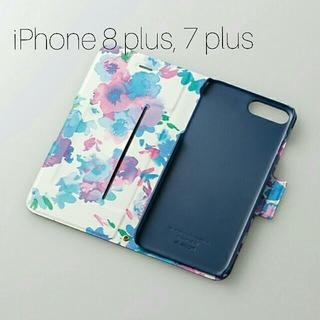 エレコム(ELECOM)のiPhone 8 Plus,7 Plus用 Ultra Slim Flowers(iPhoneケース)