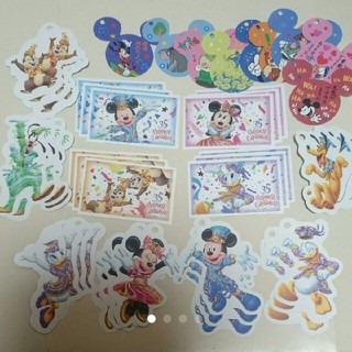 Disney - 【バラ売り】ディズニー チケット メモ 35周年