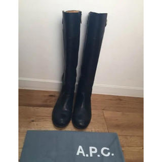 アーペーセー(A.P.C)のAPC ロングブーツ 23.5cm(ブーツ)