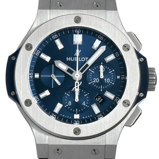 ウブロ(HUBLOT)のウブロ ビッグバン スティール ブルー 301.SX.7170.LR メンズ(腕時計(アナログ))
