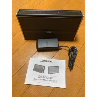 ボーズ(BOSE)のBOSE sound link II bluetooth speaker(スピーカー)