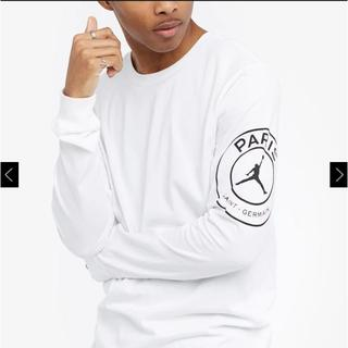 ナイキ(NIKE)のJordan Paris Saint Germain LS-STMT Tee(Tシャツ/カットソー(七分/長袖))