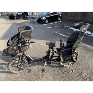 【価格変更】子ども乗せ電動アシスト自転車 ブリジストン アンジェリーノ ブラック(自転車本体)