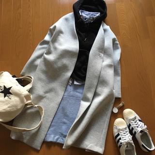 ジーユー(GU)のGUタックステッチニットスカート ペンシルスカート美品(ロングスカート)