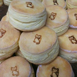 【むくむく】猫スコーン6個【おっきいにゃ】(菓子/デザート)
